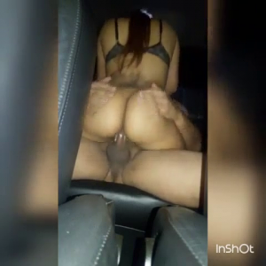 Riding Dick In the back seat